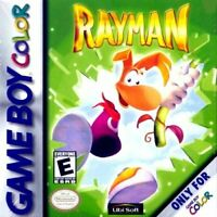 Rayman - 2000 Ubisoft - Rated Everyone - Nintendo Game Boy Color GBC
