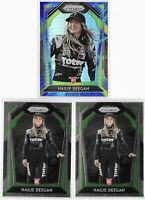 2020 Prizm Nascar Hailie Deegan Rookie Lot Blue Hyper Photo Variation Base TI