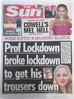 **PANDEMIC VIRUS LOCKDOWN / MCDONALDS UK THE SUN NEWSPAPER 6TH MAY 2020**