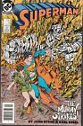 SUPERMAN #5 1987 DC ''MUMMY STRIKE'' -BYRNE/ KESEL BY SIEGEL/SHUSTER...VF