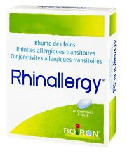 Boiron Rhinallery Homeopathic Relief  40 Capsules - Hay Fever, Conjunctivitus