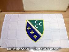 Fahnen Flagge Sandzak - 90 x 150 cm