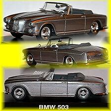 BMW 503 Cabriolet 1956-59 Argento Argento metallico 1:43 SCHUCO