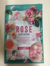DEARPACKER 1SHEET REAL NATURE NO.007 ROSE FACE MASK PACK