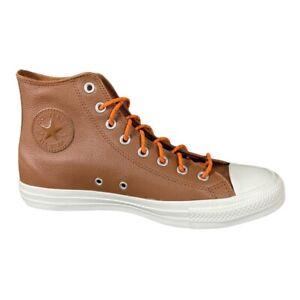 Converse Chuck Taylor All Star HI Warm Tan Brown Orange Rind Egret Shoes Mens 10