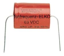 VISATON Bipolaire Kondensator 47 UF 63 VDC