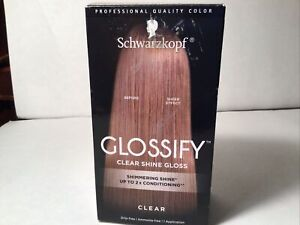Schwarzkopf Glossify Color Gloss Clear Hair Care Up To 2X Conditioning