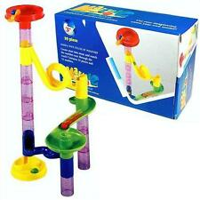 Childrens 29 Piece Marble Run Construction Build & Learn Cats Eye Tower Fun Toy