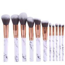 10Pcs Pro Makeup Cosmetic Brushes Set Powder Foundation Eyeshadow Lip Brush New