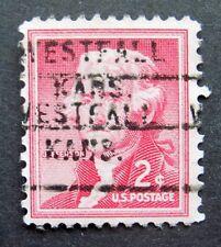 Sc # 1033 ~ 2 cent Liberty Issue, Precancel, WESTFALL KANS.