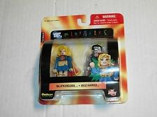 Diamond Art Asylum DC SUPERGIRL & BIZARRO Minimates 2 Pack