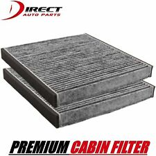 2 OEM Quality Toyota Charcoal Cabin Air Filter 87139-32010 & 87139-YZZ05