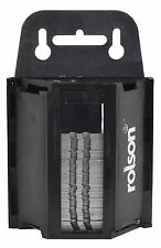 ROLSON 100 TRADE QUALITY UTILITY KNIFE STANLEY BLADES  IN SAFETY DISPENSER