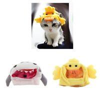 2 Stück Haustier Hund Katze Kostüm Hut Cap für Hals Umfang von 25 30 cm