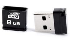 8GB USB Stick 8 GB Nano USB 2.0 Highspeed Speicherstick schwarz Mini Klein Flash