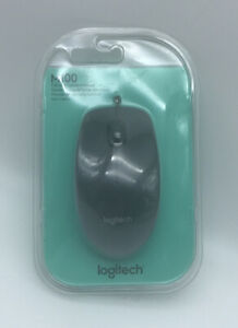 Logitech - M100 Optical Mouse - Black - Wired