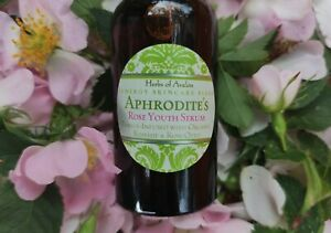 Aphrodite's Rose Youth Serum - Organic 3X Rose & Rosehip, Goddess Anoint & Bless