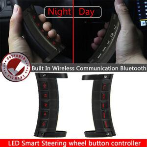Steering Wheel Radio Volume Control DVD GPS Switch Button Bluetooth  Control