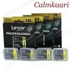 Lexar 16/32/64/128GB 1066X 160MB/s Compact Flash CF Memory Card UDMA7 For Camera