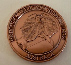 2008 Northern Territory Geocachers Geocoin