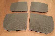 AUDI A2 2000 2005 speaker grill trim covers light grey set front back left right