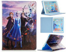 For iPad Mini 1 2 3 4 5 Frozen Elsa Anna Olaf Kids Smart Stand Case Cover