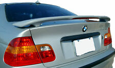 Fits 1999-2005 3-Series E46 4dr Custom Spoiler Wing Primer Un-painted With light