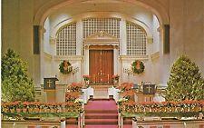 South Park United Methodist Church Dayton, Ohio - Christmas Decorated Sanctuary