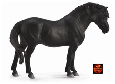 CollectA Black Dartmoor Pony Toy Horse Model Figure 88603 Brand New