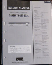 SANSUI TU-S33/33L Tuner service repair workshop manual (original)