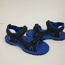 Northside Boys' Riverside II Sport Sandals (Sizes 3 M) Black-Blue color