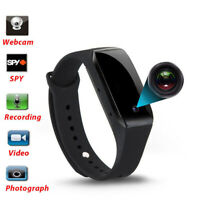 1080P Bracelet Smart Watch Wristband Camera Mini Spy Hidden DVR Video Recorder