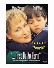 NEW!  ...First Do No Harm (DVD, 1997, Fullscreen) Meryl Streep & Fred Ward