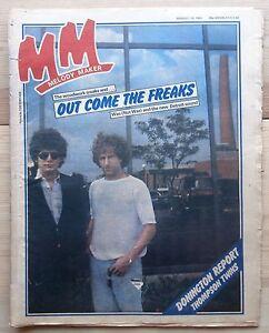 MELODY MAKER 29 AUG 1981 WAS (NOT WAS) THOMPSON TWINS NICO ALEXEI SAYLE DEVO