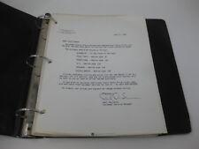 ATARI OEM Parts Price List Binder 1980 Computer - Vintage Rare