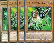 YuGiOh - 3x PSY-Framegear Gamma + 1x PSY-Frame Driver - RARE TOCH - TCGAtzenJens