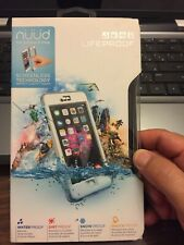 LifeProof nuud Waterproof Water Dust Proof Hard Case for iPhone 6 Plus(White)