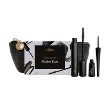 NEW Inika Flutter Eyes Organic Gift Set Limited Edition Mascara &Liquid Eyeliner