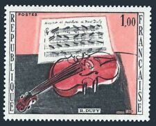 France 1117 block/4,MNH.Michel 1529. The Red Violin,by Raoul Dufy.1965.