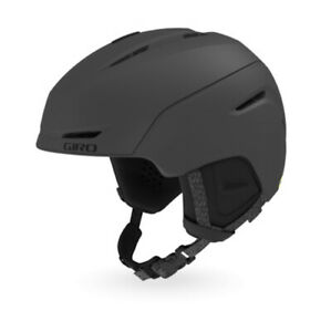 Giro Neo Mips Mat Charcoal Ski Helmet New Snowboard Sports j20