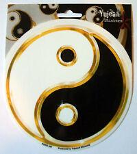 Yin Yang Sticker Black White Balance Decal Chinese Light Dark Window Computer