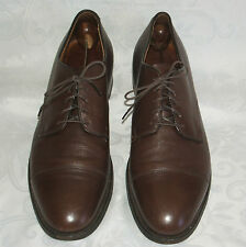 Alden Brown Leather Cap Toe Oxford Shoes Size 12 AA Mens Blucher