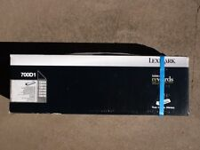 Brand New GENUINE  Lexmark 700D1 Black Developer Unit Cartridge CX410/510 70CD10