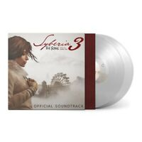 Syberia 3 Original Game Soundtrack CLEAR Vinyl LP Record / Inon Zur / Syberia 2