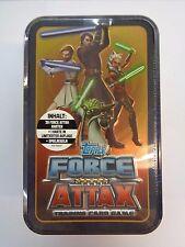 Star Wars Force Attax Serie 4/Tin Dose/30 Karten inkl. Limitierte/Neu OVP Topps
