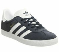 Womens Adidas Gazelle Jnr Trainers Collegiate Navy Trainers Shoes