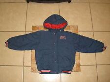 Boys Kids Brooklyn NEW JERSEY NETS Reebok HOODED Puffer Jacket Medium 10-12