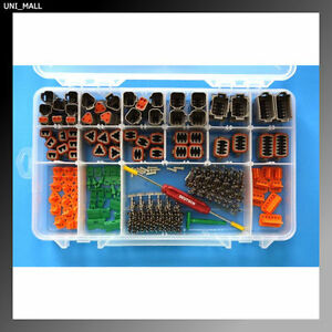 416 PCS DEUTSCH DT Connector Kit + Removal Tools (Made in USA)