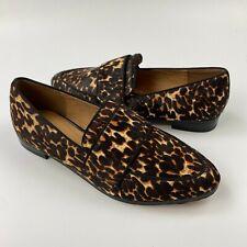 halogen leopard booties