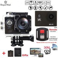 Wifi Video Waterproof + 30Pcs Accessories as Gopro Uk Ultra Hd 4K Action Camera